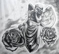 gudu ngiseng blog tattoo sketch angel angel tattoo sketches