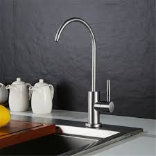 kitchen drinking water faucet stainless steel lead free cold water kitchen faucet drinking water