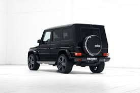 mercedes jeep black brabus chisels up the mercedes benz g500 v8 turbo