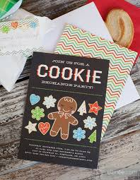invitation ideas for cookie exchange chatterzoom