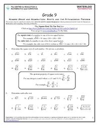 math pythagorean theorem worksheets u0026 pythagorean theorem