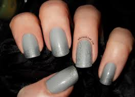 subtle silver and grey nail art the adorned claw