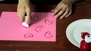 preschool project ideas with painting hearts arts u0026 crafts for