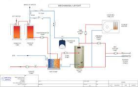 water to heat pump fan coil radiant floor schematic shine