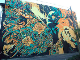 Mural Collaboration by Art Taco On The Nature Of Collaboration