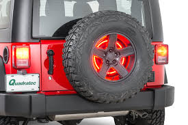 jeep lights on top rugged ridge 11585 04 3rd brake light led ring for 97 18 jeep