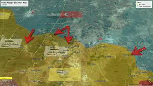 Tabqa Dam Raqqa Syria Google Maps by Turkey Backed Rebels Are Attacking The Sdf Ypg On Several Fronts