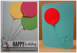 birthday card decoration design