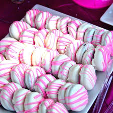 baby shower treats baby shower dessert ideas pink and blue best food for girl on