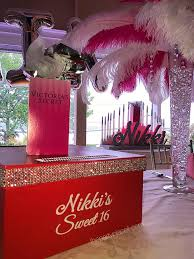 sweet sixteen centerpieces sweet sixteens the party place li the party specialists