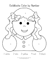 goldilocks coloring pages kids coloring pictures download