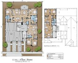 center courtyard house plans best 25 best house plans ideas on blue open plan