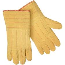 Kevlar Curtains Kevlar Terry Cloth Thermal Protective Wool Lined Gloves 14