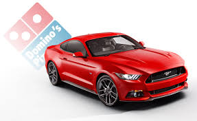 pizza mustang 2015 mustang can order pizza delivery on the go autoguide com