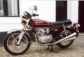 bike number two honda 550 4 cylinder exhaust designed by a