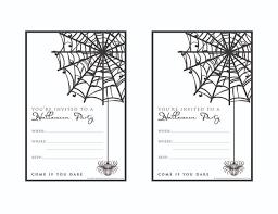 halloween party invitations free printable cimvitation