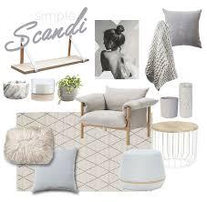 scandinavian design inspiration mood board living room scheme