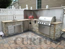 Outdoor Kitchen Appliances Reviews | curtos com blaze outdoor kitchen and kamado joe in westchester