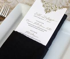 wedding menus and programs wedding programs menus favor tags and more invitations by ajalon