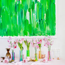 single stem vases iridescent rainbow vases