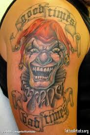 laughing bad clown