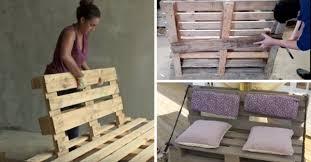 faire un canap en palette faire un canape avec des palettes maison design bahbe com