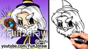 fantasy wizard how to draw a wizard cool u0026 easy fun things to