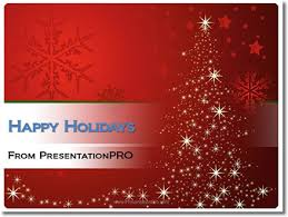 christmas card powerpoint template christmas tree template