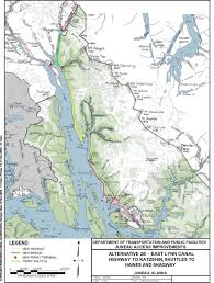 Road Map Of Alaska by Juneau Access Project Begs Question Of Ferries Versus Roads