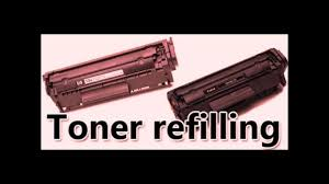 Toner Canon Lbp 2900 how to refill toner cartridge canon lbp 2900 printer
