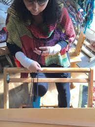 centering with fiber saori weaving students new and returning a