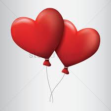 heart balloons heart balloons vector image 1873995 stockunlimited