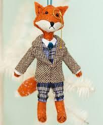 ornaments fox ornaments fox