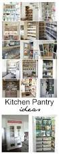 How To Organize Kitchen Cabinet by Best 25 Pantry Makeover Ideas That You Will Like On Pinterest
