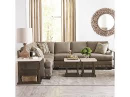 Bassett Sectional Sofa Bassett Cu 2 Carmine Five Seat Sectional Sofa Hudson S Furniture