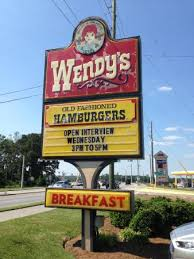onsite sign hours picture of wendy s dallas tripadvisor