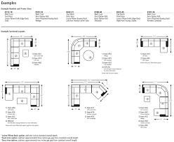 Couch Depth Corner Sofa Dimensions Mayne Right Hand Facing Corner Sofa Bed
