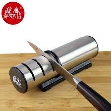 Sharpening Ceramic Kitchen Knives Taidea T1202dc Kitchen Knife Sharpener With Three Stage