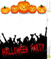 halloween party decorations cheap halloween party banner set with spooky castle stock vector image