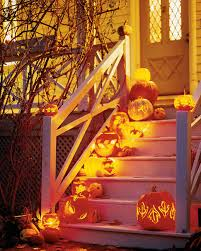cheap ways to decorate for a halloween party outdoor halloween decorations martha stewart