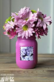 jar flowers jar picture frame vase home stories a to z