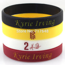 rubber cuff bracelet images 1pc kyrie irving wristband silicone bracelets rubber wrist bands jpg