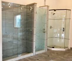 Non Glass Shower Doors Frameless And Framed Shower Enclosures Charlottesville Glass And