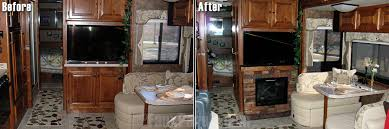 rv remodeling ideas gvw friendly creative faux panels