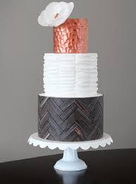 11 non froufrou wedding cakes from jessica harris cake design
