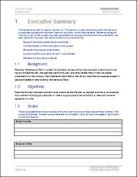 Maintenance Checklist Template Excel Maintenance Plan Template Technical Writing Tips