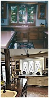 Painted Kitchen Cabinets Before And After Pictures Before And After 25 Budget Friendly Kitchen Makeover Ideas Hative