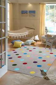 Buy Kids Rug by Buy Kids Dots Design Rug Grey At Cheapest Rugs Online