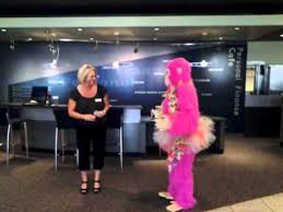 singing gram chicago pink gorilla singing telegram