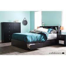 Black Armoire South Shore Vito Pure Black Armoire 3170045 The Home Depot